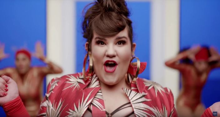 Kadr z teledysku do piosenki Izraelki Netty Barzilai, z którą wystąpi na Eurowizji w 2018 roku