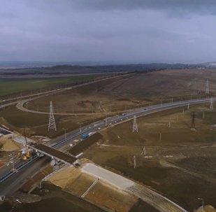 Wizualizacja Krymskiego Mostu