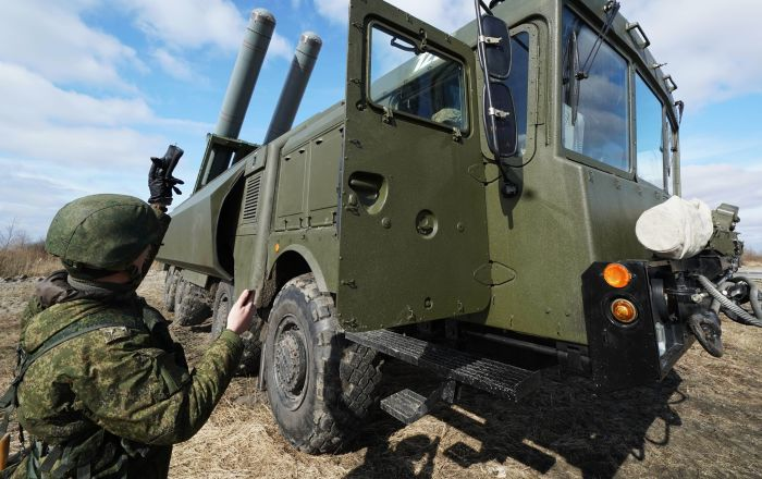 Taktyczne ćwiczenia przybrzeżnych wojsk rakietowych Floty Bałtyckiej