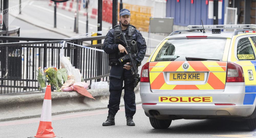 Policjant w Londynie