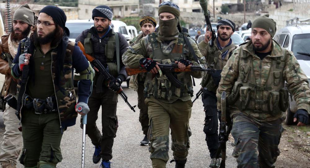 Syryjska opozycja wspierana przez Turcję