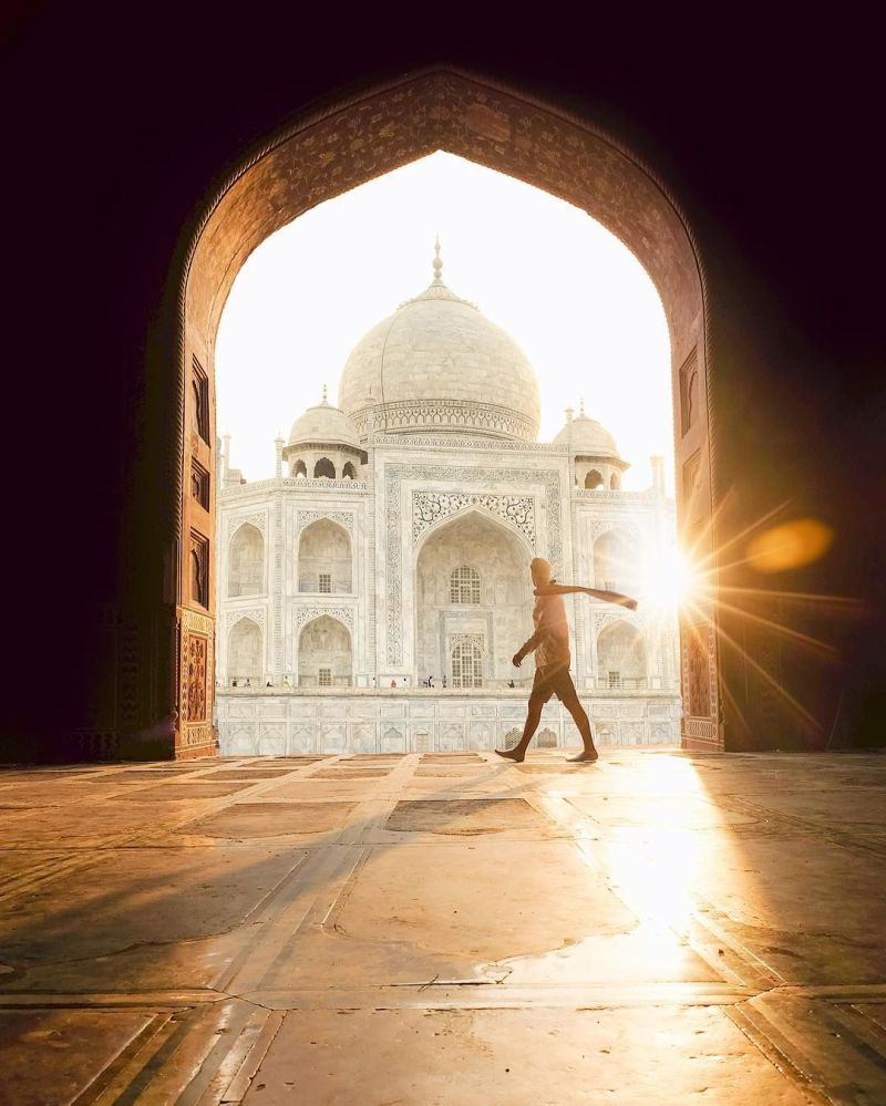 Indie - fotografia dla projektu Jak daleko od domu