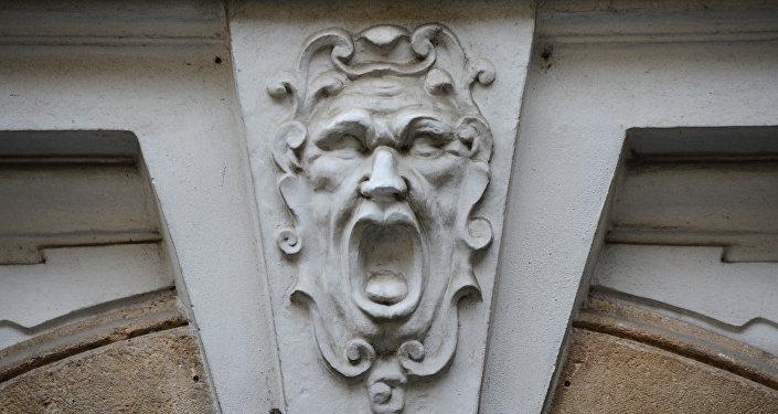 Maszkaron w Pradze