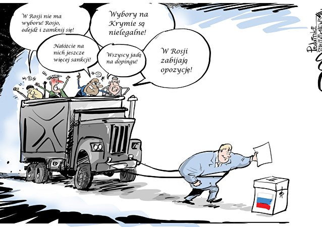 Wybory w Rosji 2018