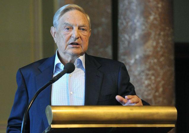 Amerykański miliarder węgierskiego pochodzenia George Soros