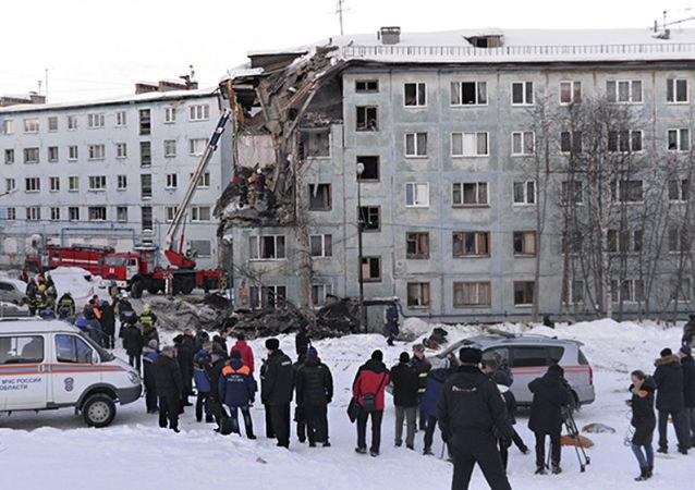 Wybuch gazu w Murmańsku