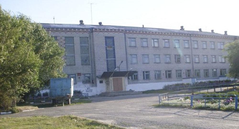 Budynek szkoły nr 15 w mieście Szadrinsk