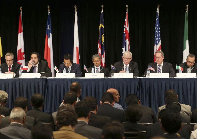 Spotkanie przedstawicieli krajów członkowskich Partnerstwa Transpacyficznego w Sidney