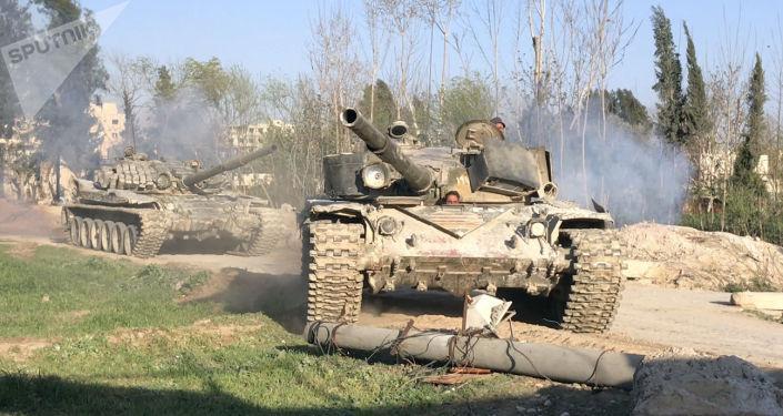 Sprzęt pancerny armii syryjskiej