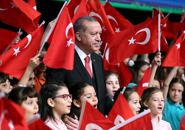 Prezydent Turcji Tayyip Erdogan