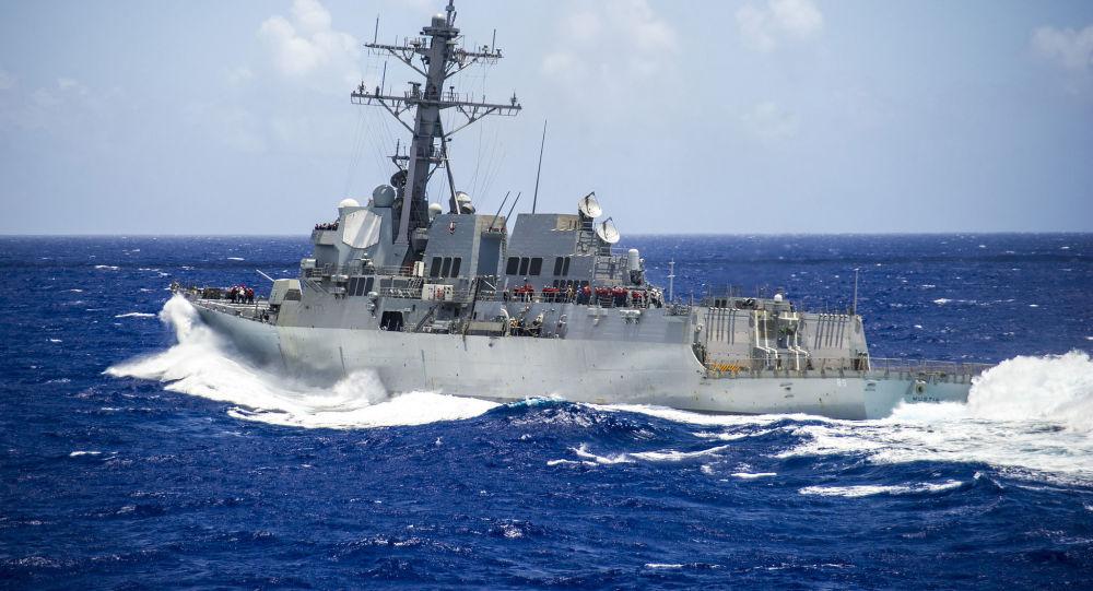 USS Mustin (DDG-89)