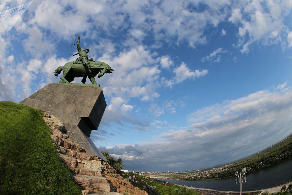 Pomnik Saławata Jułajewa w Ufie