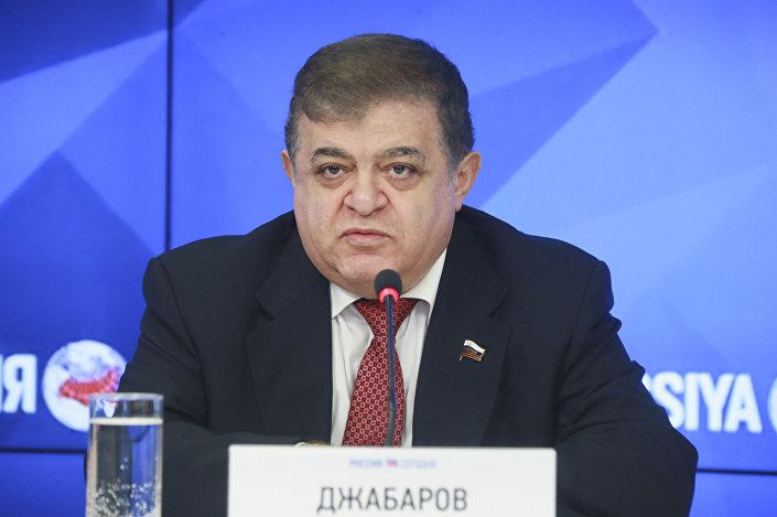 Pierwszy zastępca przewodniczącego Komitetu Rady Federacji ds. Międzynarodowych Władimir Dżabarow
