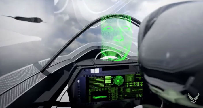 Zrzut ekranu z filmu, który pokazuje możliwą technikę amerykańskich nalotów na pozycje wroga w 2030 roku