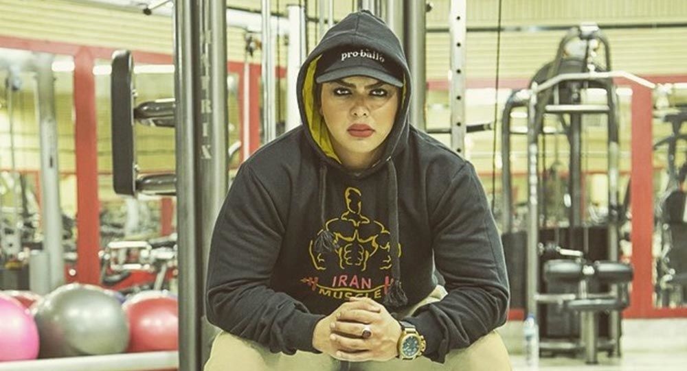 Irańska kulturystka Shirin Nobahari
