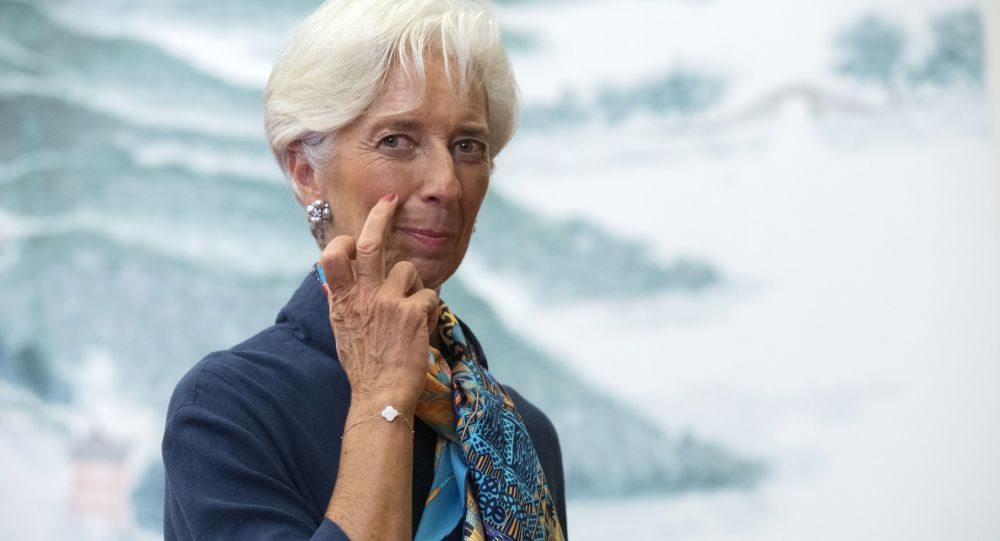 Szefowa Międzynarodowego Funduszu Walutowego Christine Lagarde