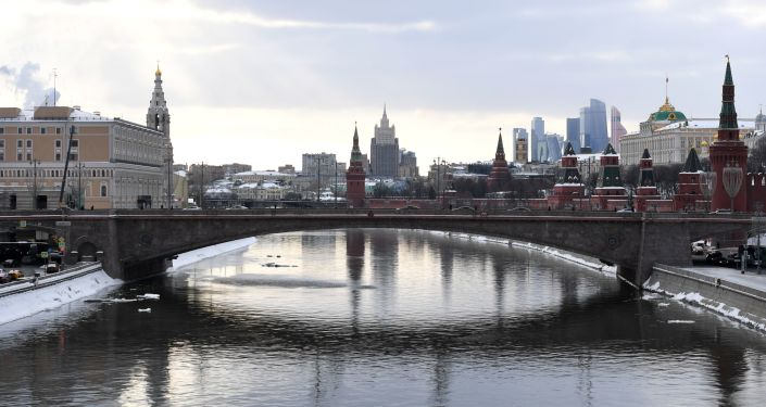 Widok na Kreml, Moskwa