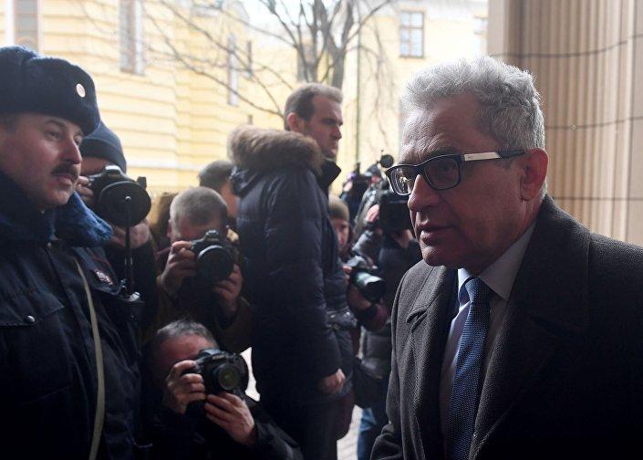 Ambasador RP w Moskwie, Włodzimierz Marciniak, w MSZ Rosji