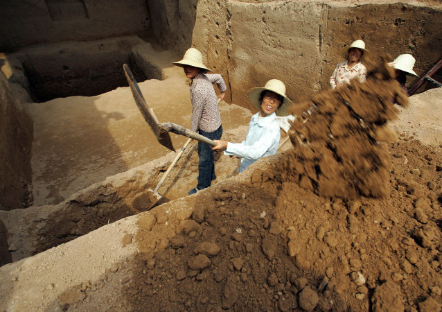 Wykopaliska archeologiczne w Chinach
