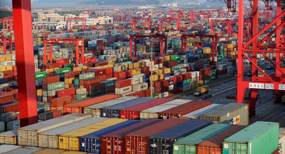 Chiński port morski Yangshan