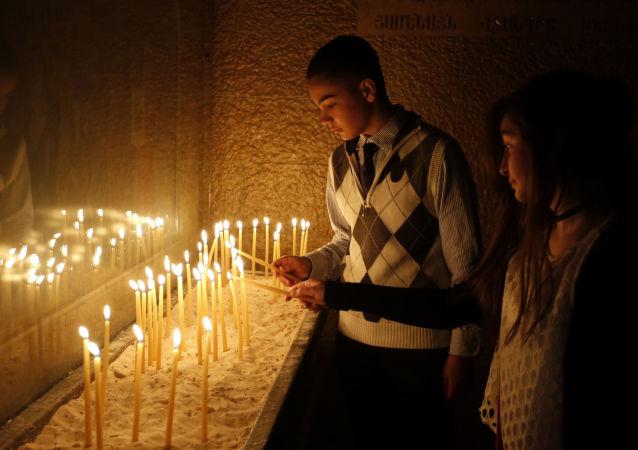 Chrześcijanie w Syrii obchodzą Wielkanoc