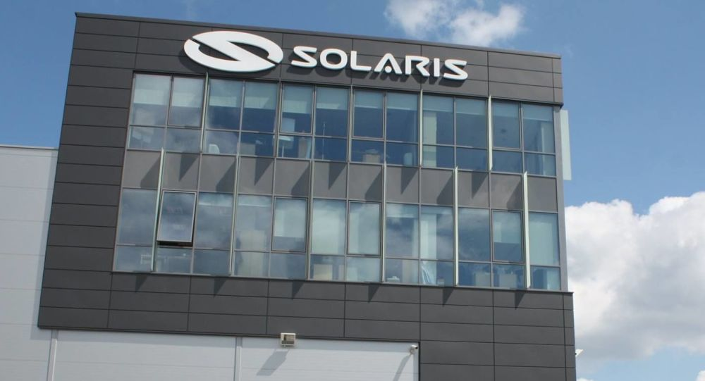 Biuro firmy Solaris Bus&Coach S.A.