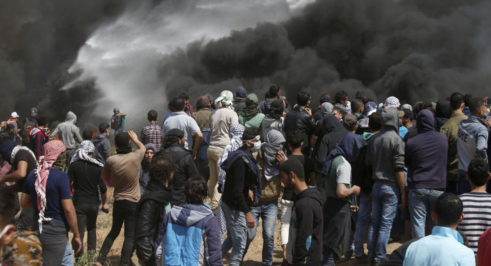 Starcia Palestyńczyków i Izraelczyków w Strefie Gazy