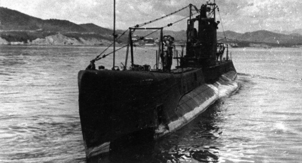 Radziecki okręt podwodny Szczuka