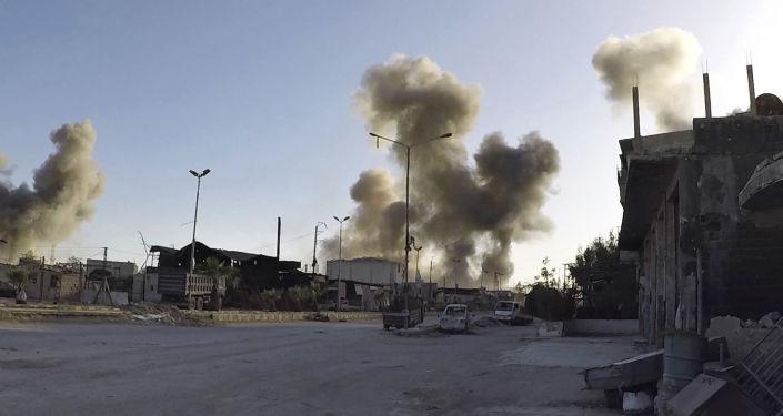 Syryjskie miasto Duma