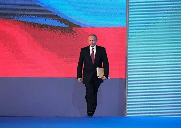 Orędzie Władimira Putina do Zgromadzenia Federalnego