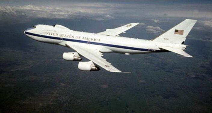 """Boeing E-4B Nightwatch znany jako samolot """"sądnego dnia"""