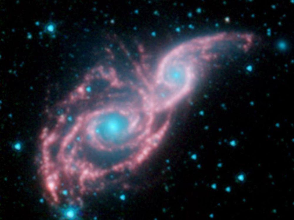Galaktyki NGC 2207 i IC 2163