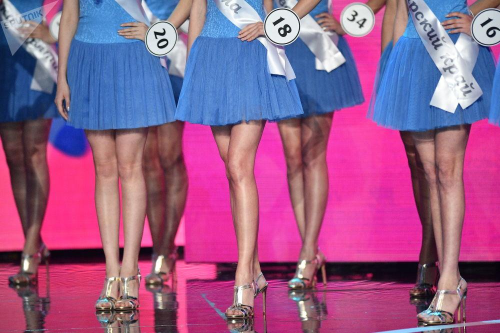 Wystąpienie finalistek konkursu Miss Rosji 2018