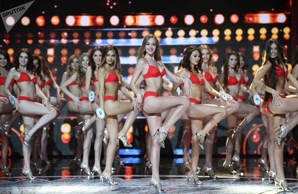Finalistki komkursu Miss Rosji 2018