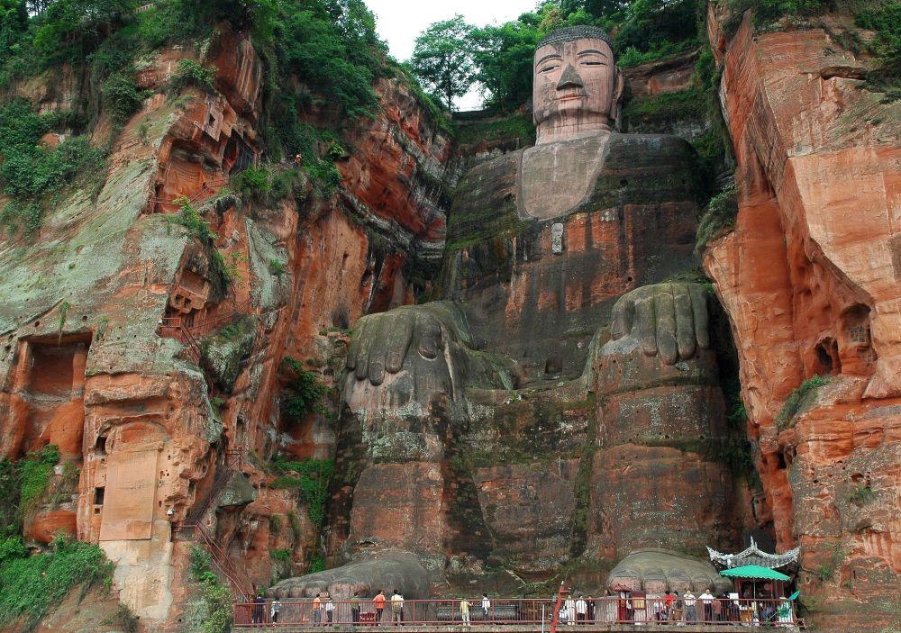 Wielki Budda z Leshan, Chiny