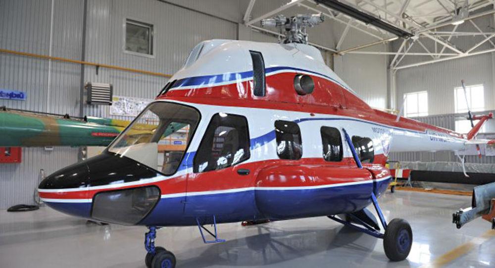 Śmigłowiec MSZ-2 Nadieżda wyprodukowany przez ukraińską spółkę Motor Sicz