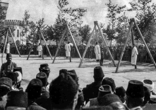 Powieszenie Ormian w Stambule, 24 kwietnia 1915 r.