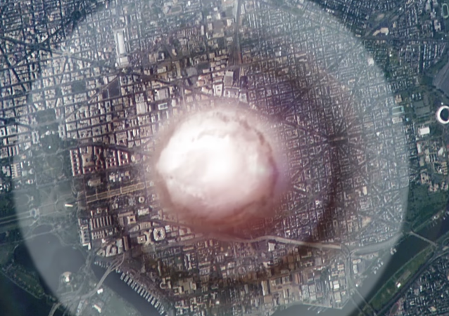 Naukowcy z Politechniki Wirginii zwizualizowali wybuch bomby jądrowej w centrum Waszyngtonu.