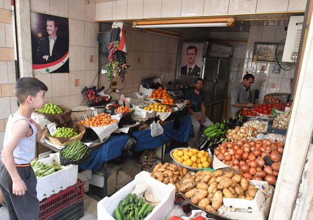 Warzywniak w Damaszku