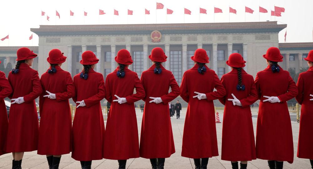 Hostessy w Pekinie