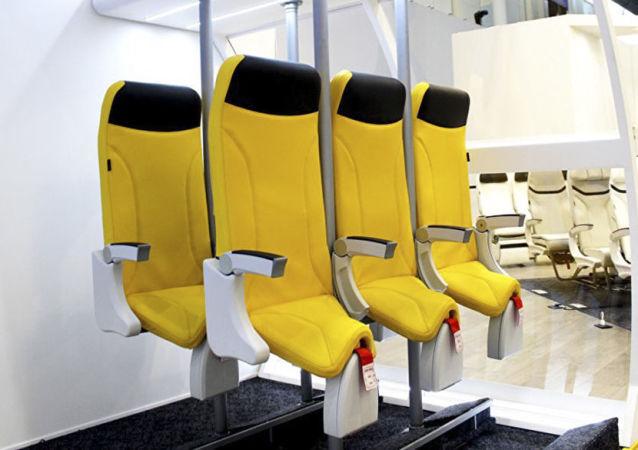 Miejsca stojące Skydiver 2.0 firmy Aviointeriors