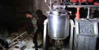 Chemiczne laboratoria terrorystów w syryjskiej Dumie