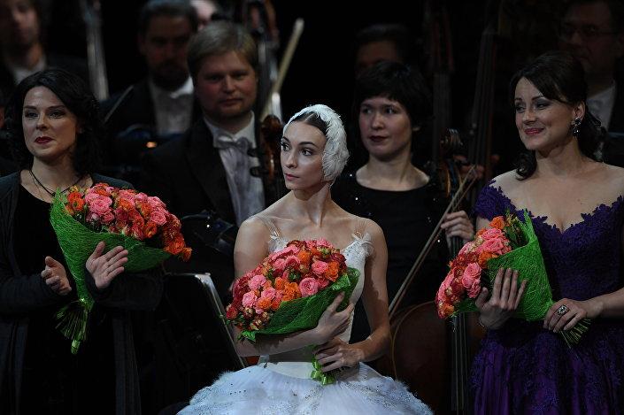 Balerina Olga Smirnova