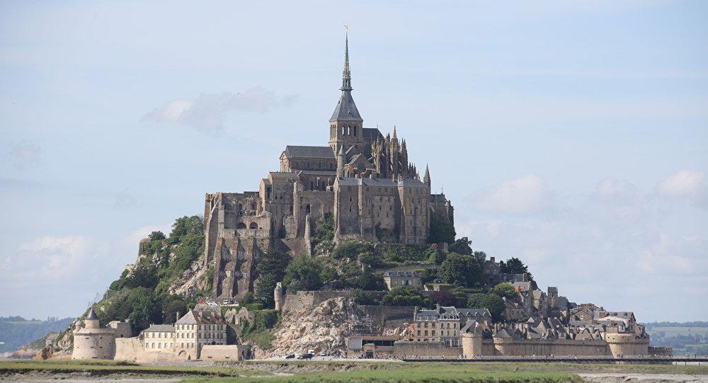 Widok na Mont-Saint-Michel