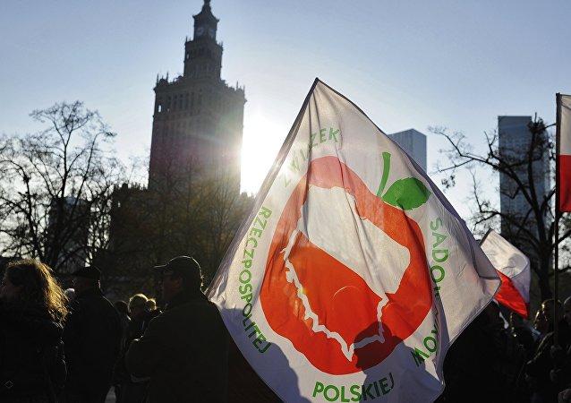 Protesty rolników w Polsce przeciwko sankcjom