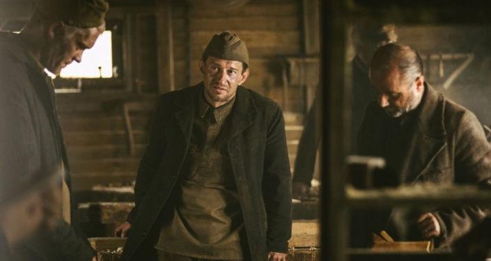 Kadr z filmu Sobibór