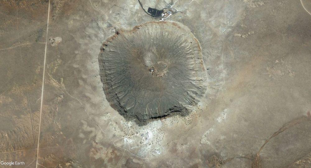 Arizoński krater w USA