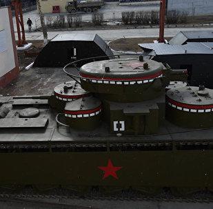 Renowacja  radzieckiego czołgu ciężkiego T-35
