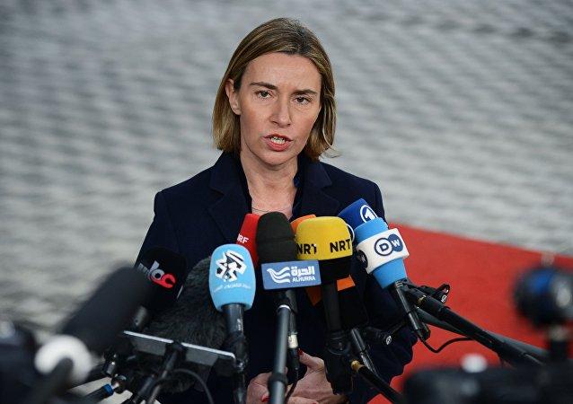 Szefowa dyplomacji unijnej Federica Mogherini