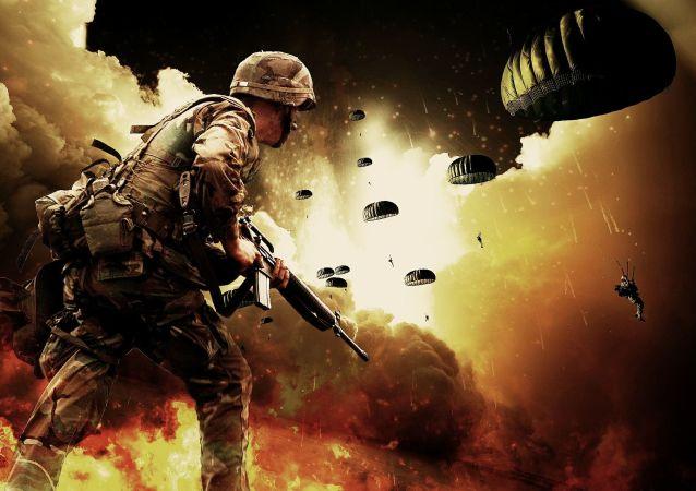 Artystyczna wizja działań zbrojnych